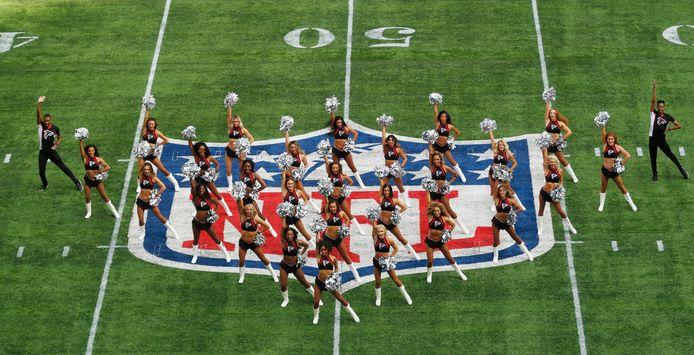 De cheerleaders van Atlanta Falcons.