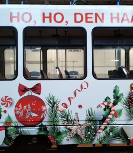 'Ho Ho Den Haag', binnenkort rijdt de Haagse kersttram door de straten