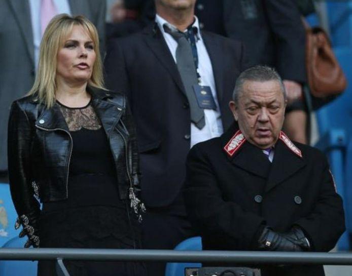 Eve Vorley est la compagne de celui qui est propriétaire de West Ham depuis dix ans, David Sullivan