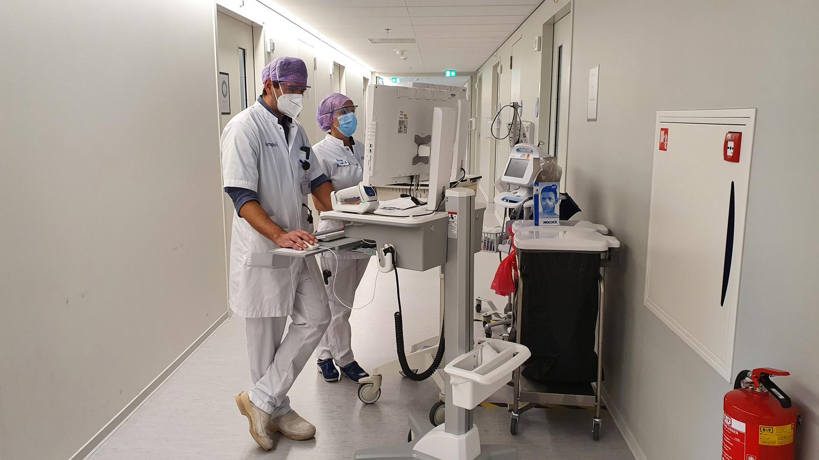 De cohortafdeling van het Amphia Ziekenhuis.