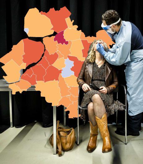 KAART | Corona wint terrein in Gelderland, situatie Zwartewaterland blijft zorgelijk