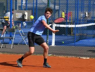 """Benoit Torcq schittert op toernooi van TC Merelbeke: """"Hier heb ik hard voor gewerkt"""""""