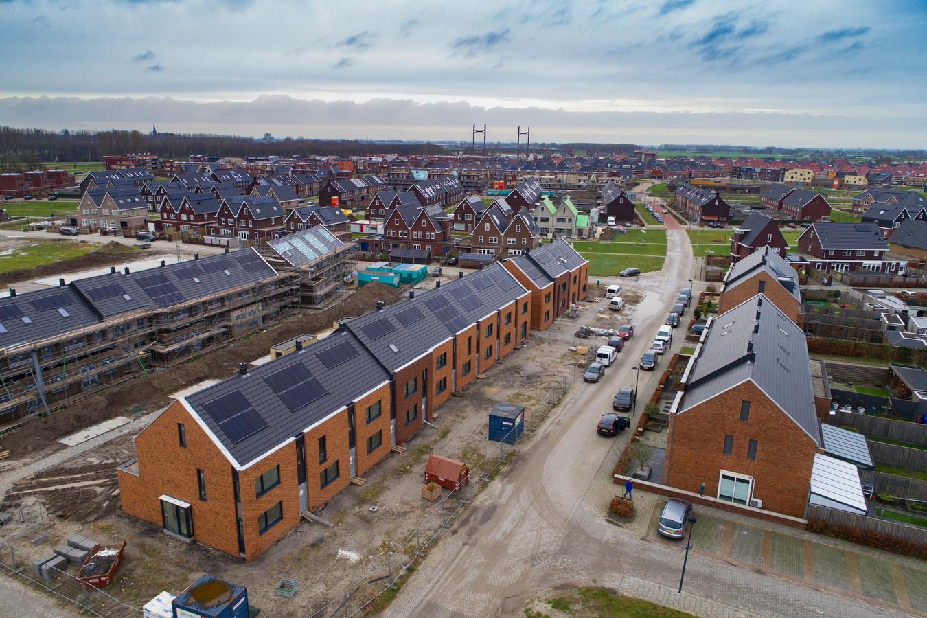 Gebouwd wordt er wel in Kampen, maar de meeste nieuwe woningen zijn te duur voor starters.
