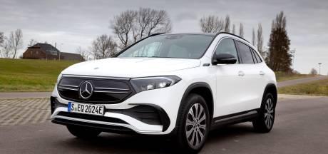 Test: elektrische Mercedes-Benz EQA steekt niet boven het maaiveld uit