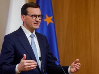 """Poolse premier waarschuwt Europa: """"Stop met een pistool tegen ons hoofd te houden"""""""