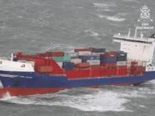 Kapitein van schip dat containers in Waddenzee verloor berispt: 'Veiligheid in gevaar gebracht'