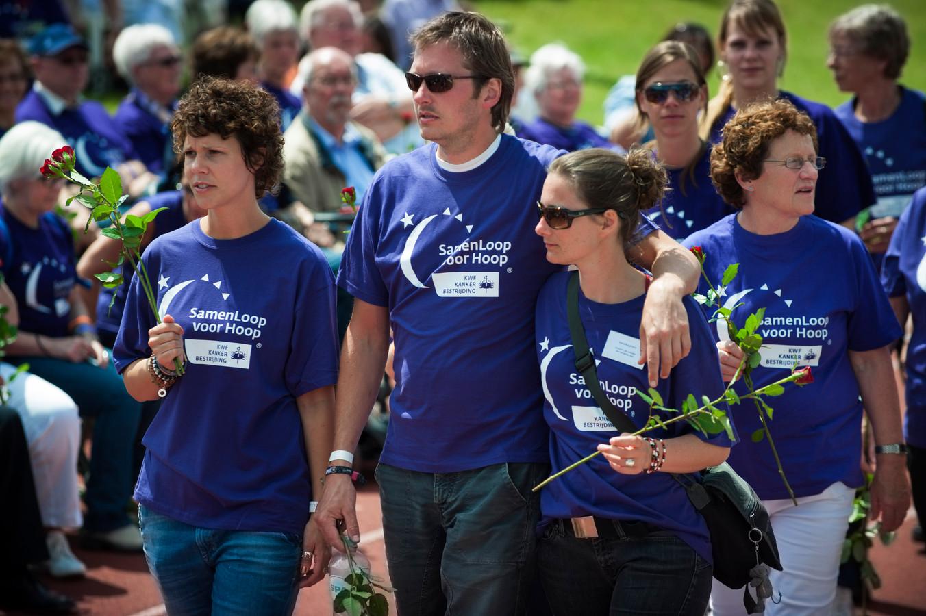 De Samenloop voor Hoop werd op meerdere plaatsen in Nederland gehouden. Begin april trok het KWF de stekker uit het evenement.
