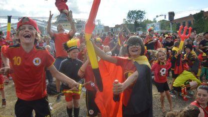 Massa fans ziet Rode Duivels winnen