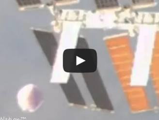 Ufo gespot bij Internationaal Ruimtestation na vals alarm