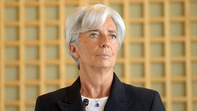 Christine Lagarde. Beeld null