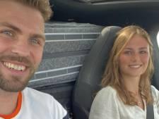 Vlucht vol Nederlandse sporters op weg naar Tokio, Simone Biles krijgt eigen Twitter-emoji