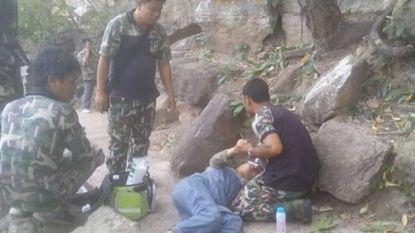 Chinees duwt zwangere vrouw van klif om haar erfenis te kunnen opstrijken maar zijn plannetje mislukt