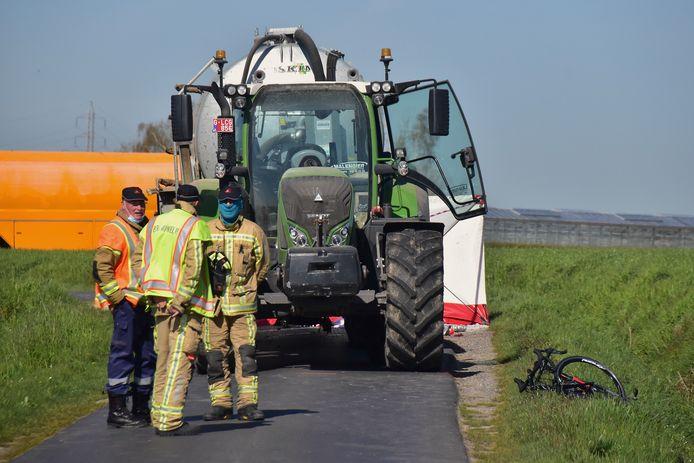 De tol was bijzonder zwaar bij het ongeval in de Oude Iepersestraat in Dadizele.