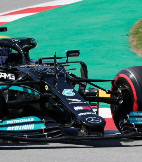 Lewis Hamilton signe la 100e pole position de sa carrière au GP d'Espagne