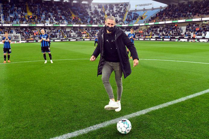 Miguel Van Damme zal vrijdag de aftrap geven, zoals vorig jaar voor de match tegen Club Brugge.
