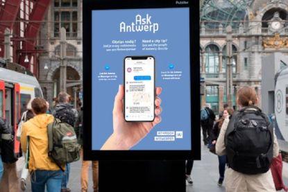 Antwerpen lanceert chatrobot waar toeristen tips kunnen vragen aan inwoners
