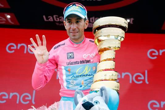 Nibali in 2016 na zijn tweede eindzege in de Giro d'Italia.