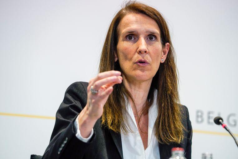 Premier Sophie Wilmès. Beeld BELGA