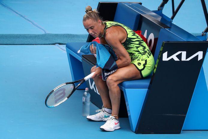 Arantxa Rus werd afgelopen maand op de Australian Open al in de eerste ronde uitgeschakeld.