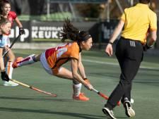Hockeysters van Oranje-Rood tonen twee gezichten op bezoek bij HGC