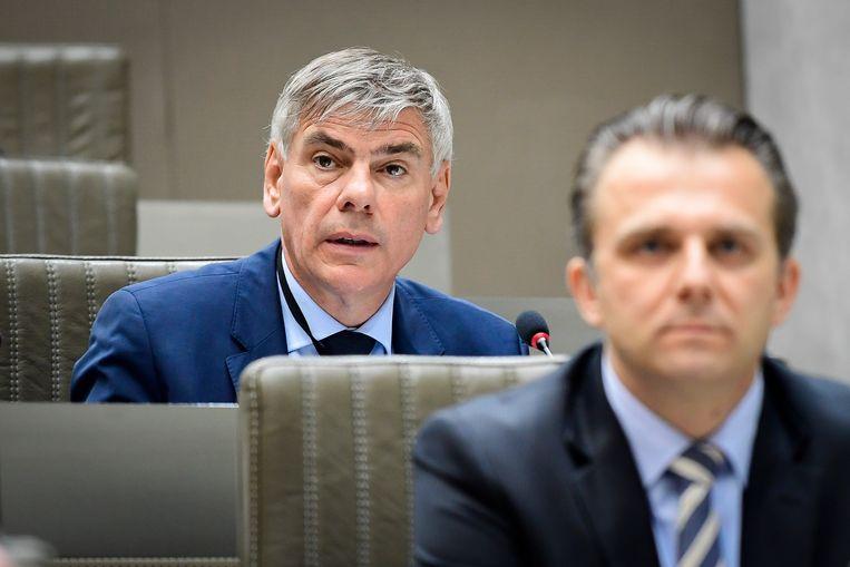 Filip Dewinter roept vandaag het bureau van het parlement samen: 'Ik zat hier niet op te wachten.' Beeld BELGA