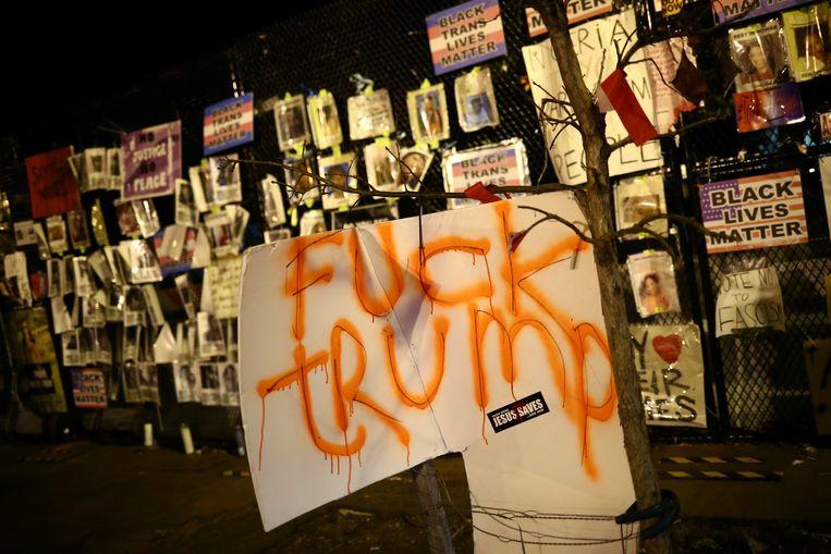 Racisme is onder Trump erger geworden. Als de zwarte Amerikanen zien dat hun klachten serieus worden genomen, zal dat de beweging Black Lives Matter matigen. Beeld Reuters