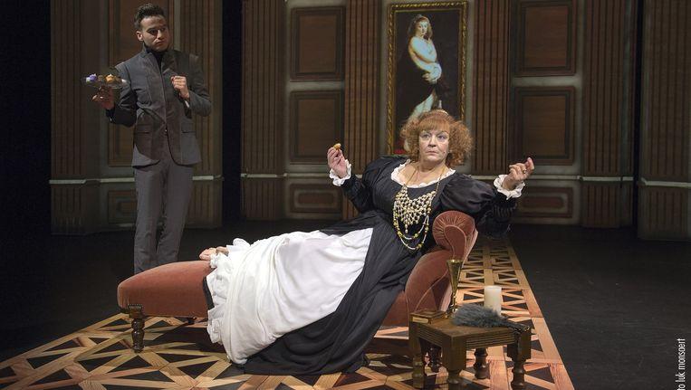 Anne Mie Gils in 'De Muze van Rubens'. Beeld Luk Monsaert