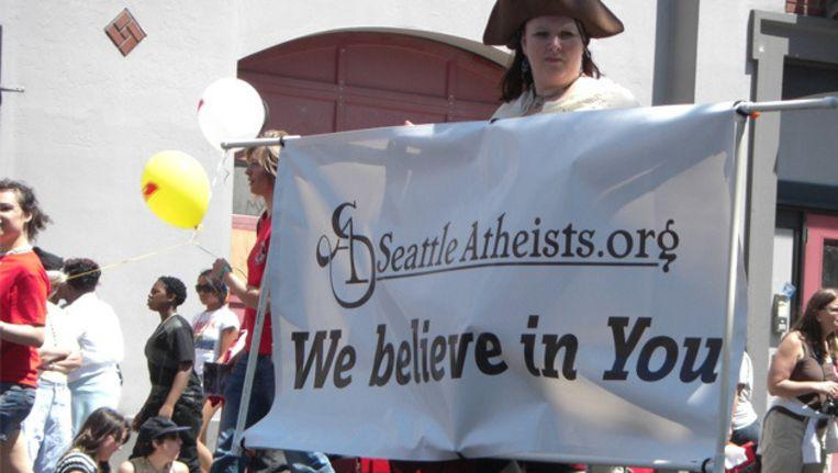 De Seattle Pride in 2009. ©Wikimedia Commons Beeld