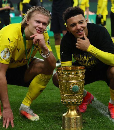 Haaland en Sancho bezorgen Borussia Dortmund winst in Duitse bekerfinale tegen RB Leipzig