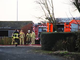 Brandweer even in de weer met brand in bijgebouw hoeve