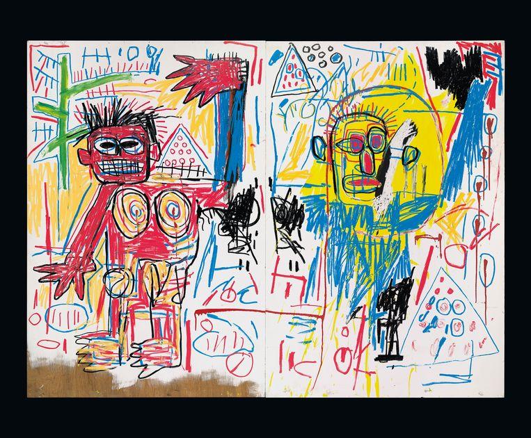 Jean-Michel Basquiat. Untitled, 1982.  Beeld RV