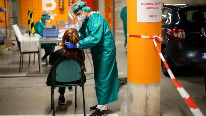 OVERZICHT. Coronacijfers blijven dramatisch: gisteren net geen 500 mensen opgenomen in ziekenhuizen, maandag meer dan 12.500 besmettingen