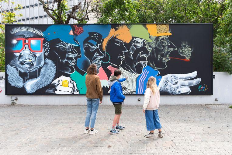 Illustratiebeeld - Streetart in Brussel