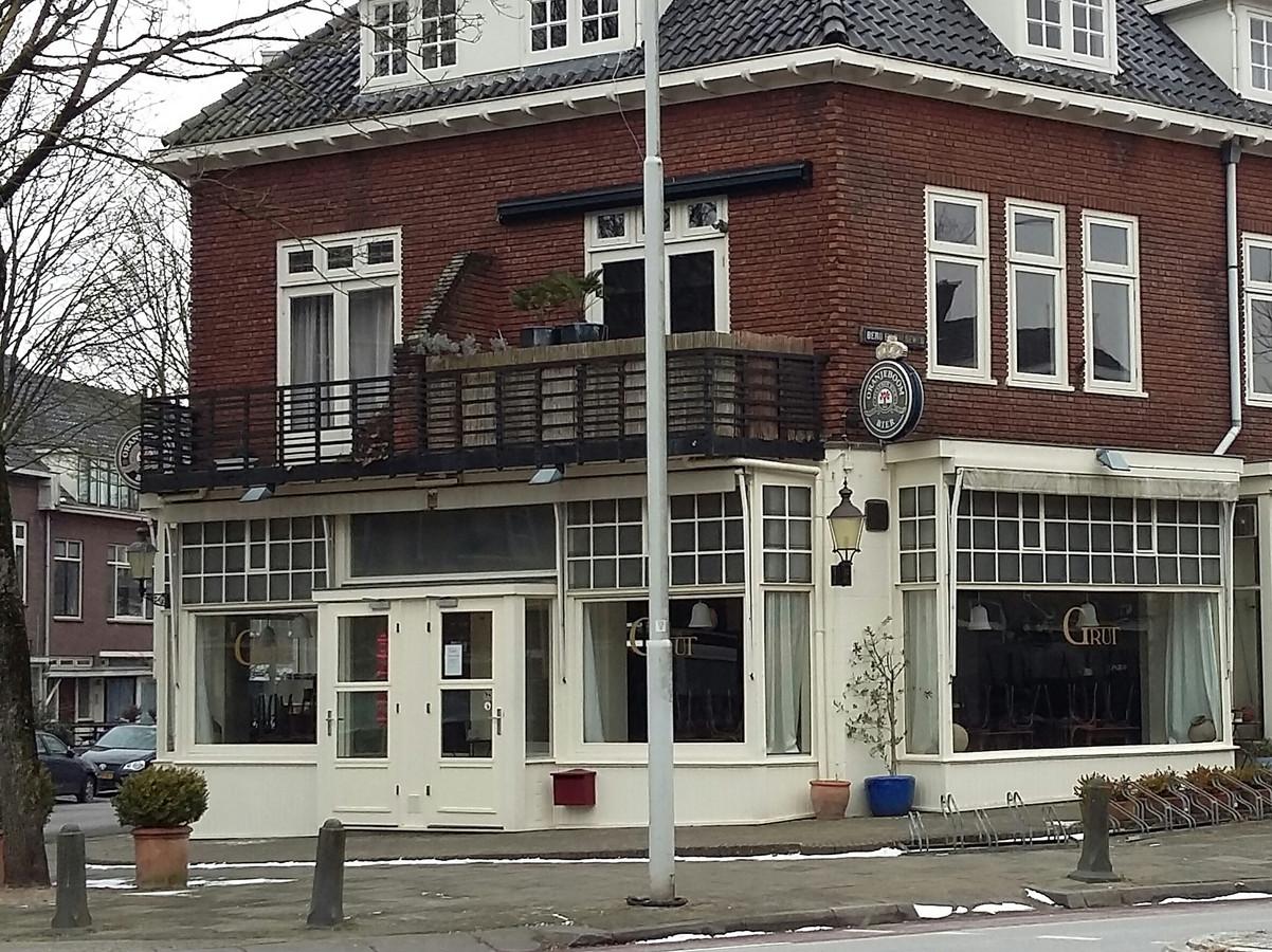 Restaurant De Grut aan de Berg en Dalseweg in Nijmegen.