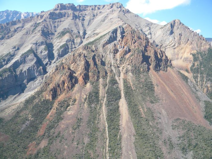 La région du nord-ouest du Canada où ont été retrouvés ces fossiles vieux de 890 millions d'années.