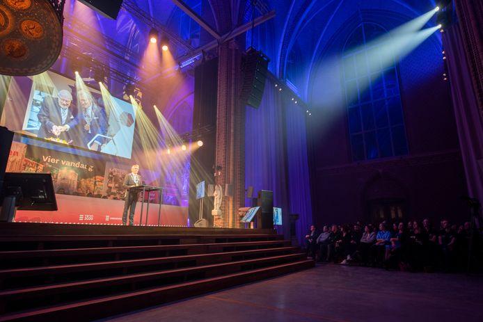 EINDHOVEN - Nieuwjaarsreceptie van de gemeente in de Domus-Dela vorig jaar