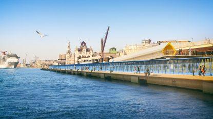 Heiwerken voor nieuwe cruiseterminal aan Scheldekaaien gaan van start