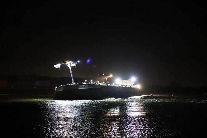 Het schip bij Zennewijnen