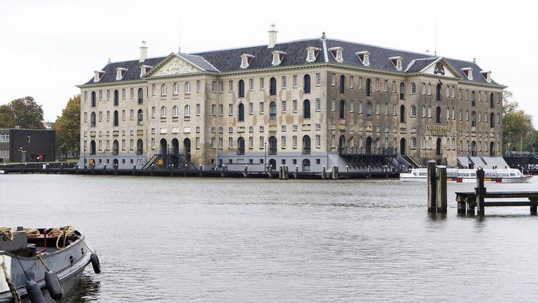 Het Scheepvaartmuseum in Amsterdam. Beeld ANP