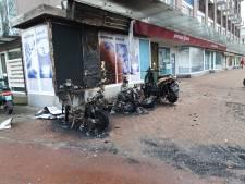 12 deelscooters gingen in vlammen op: 'Ze zijn echt actief op zoek gegaan om ze in brand te steken'