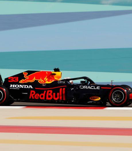Max Verstappen meilleur temps des premiers essais libres à Bahreïn, Lewis Hamilton 4e