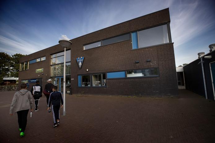Het clubhuis van Wodan aan de Oude Bossche Baan in Eindhoven.