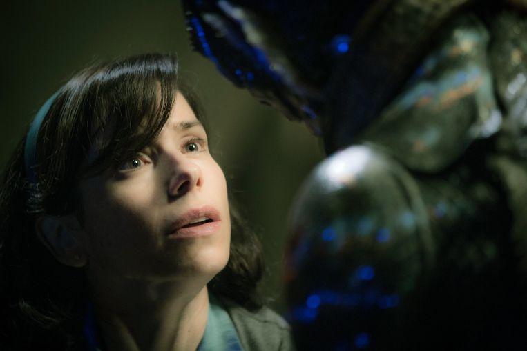 Sally Hawkins in The Shape of Water van Guillermo del Toro Beeld