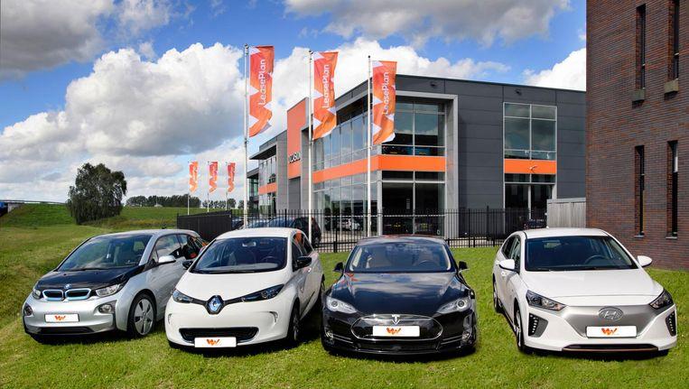 Elektrische voertuigen van Leaseplan Beeld Leaseplan