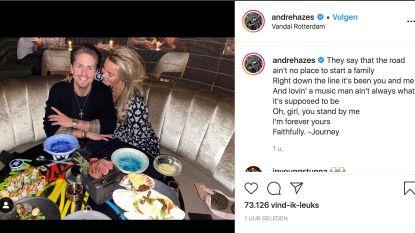 """André Hazes """"voor altijd"""" herenigd met Monique"""