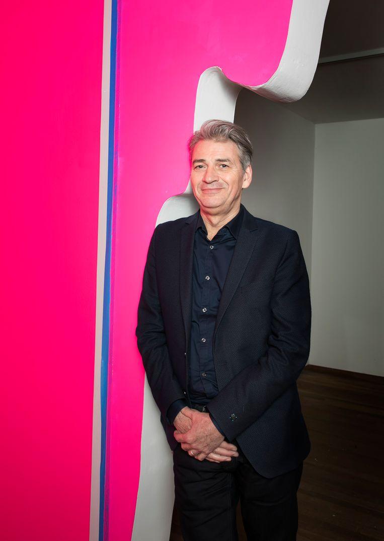 Stijn Huijts, directeur van het Bonnefantenmuseum, Maastricht. Beeld Judith Jockel
