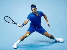 Federer kent valse start bij ATP Finals