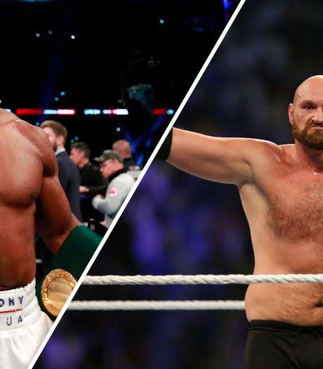 Boksgevecht tussen Anthony Joshua en Tyson Fury op losse schroeven