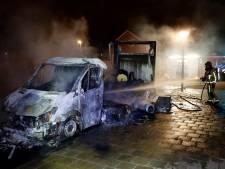 Mogelijk opnieuw giftige dampen op plek verbrande drugstruck Eindhoven