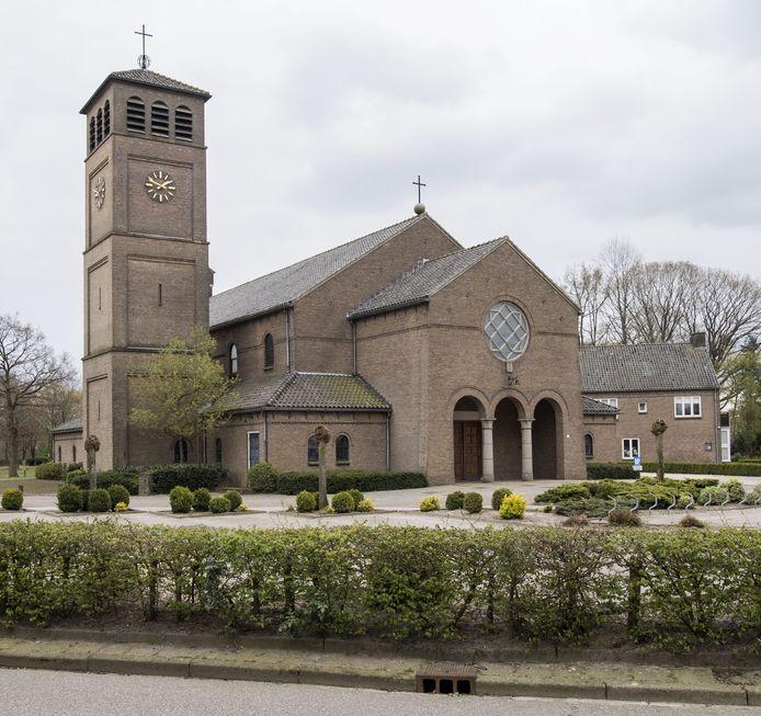 De kerk in Bentelo
